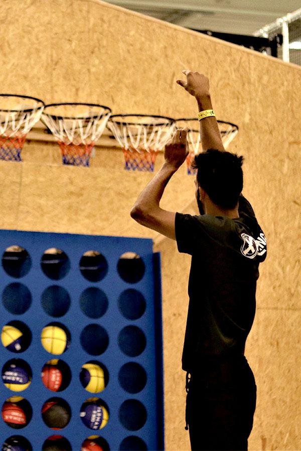 Puissance 4 basket