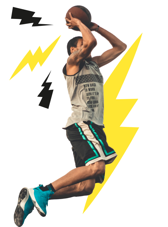 Puissance 4 basket à Xperience Park